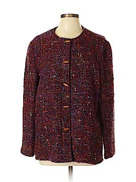 Per Se By Carlisle Wool Blazer Size L