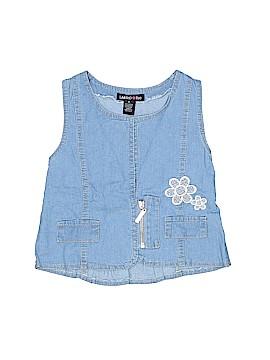 Limited Too Denim Vest Size 5