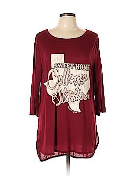 Southern Grace 3/4 Sleeve Top Size XL