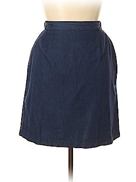 Talbots Denim Skirt Size 18 (Plus)
