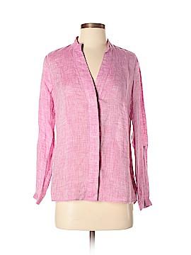 Nic + Zoe Long Sleeve Button-Down Shirt Size P (Petite)