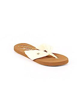 Roxy Flip Flops Size 8