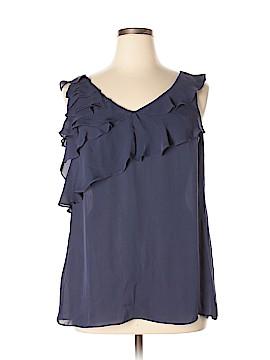 Banana Republic Sleeveless Silk Top Size XL