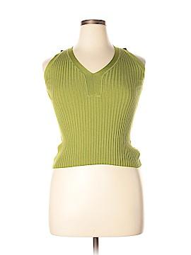 Max Mara Silk Pullover Sweater Size L