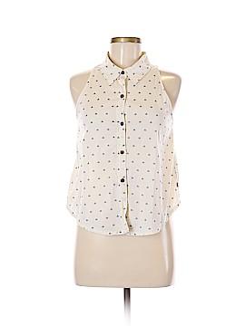 Vans Sleeveless Button-Down Shirt Size M