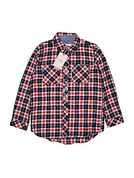 Weatherproof Long Sleeve Button-Down Shirt Size 14 - 16