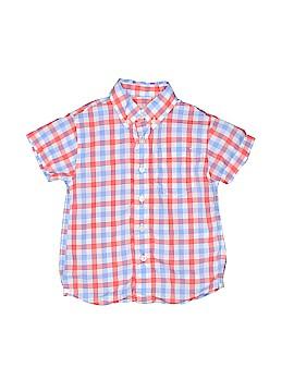 Crewcuts Short Sleeve Button-Down Shirt Size 2T