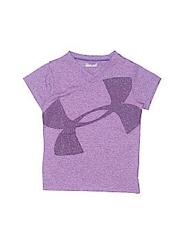 Under Armour Sleeveless T-Shirt Size 4