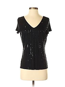 Sigrid Olsen Short Sleeve Silk Top Size S