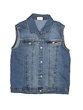 Crazy 8 Denim Vest Size 10 - 12