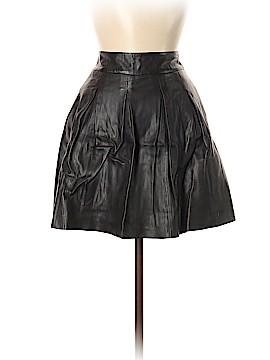 Banana Republic Faux Leather Skirt Size 6