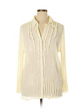 Worthington Long Sleeve Blouse Size 1X (Plus)