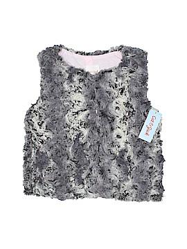 Cat & Jack Faux Fur Vest Size 10