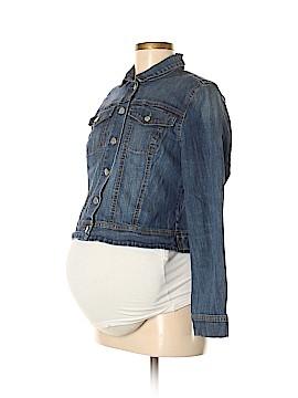 Jessica Simpson Maternity Denim Jacket Size M (Maternity)
