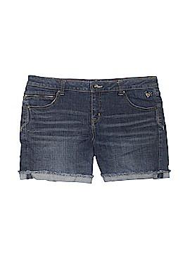 Justice Denim Shorts Size 16 (Plus)