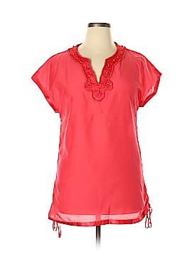 Etcetera Short Sleeve Blouse Size 10