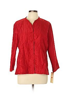 Choices 3/4 Sleeve Blouse Size XL