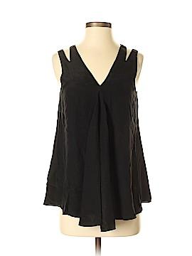 Jonathan Simkhai Sleeveless Silk Top Size S
