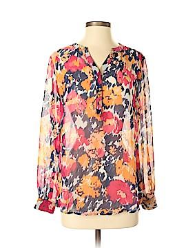 Liz Claiborne Long Sleeve Blouse Size M (Petite)