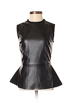 Bagatelle Faux Leather Top Size XS
