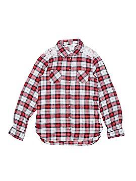 H&M Long Sleeve Button-Down Shirt Size 7