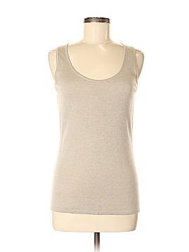 VITTADINI Sleeveless Silk Top Size M