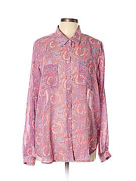 Victoria's Secret Long Sleeve Button-Down Shirt Size L