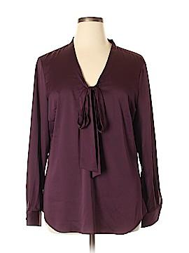 Ann Taylor Long Sleeve Blouse Size 18 (Plus)