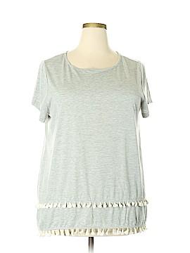 Kori America Short Sleeve Top Size 1X (Plus)