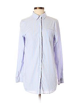 H&M Long Sleeve Button-Down Shirt Size 4