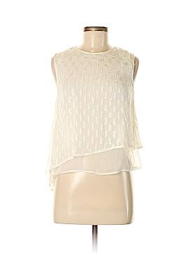 MNG Suit Sleeveless Blouse Size XXS