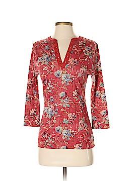 Lauren Jeans Co. 3/4 Sleeve Henley Size S