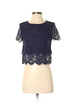 Lulu's Short Sleeve Blouse Size XS