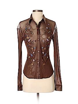 Vivienne Tam Long Sleeve Button-Down Shirt Size 2