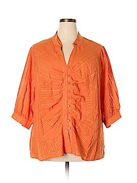 Venezia 3/4 Sleeve Blouse Size 28 - 26 Plus (Plus)
