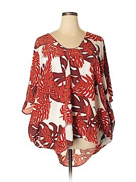 Mikoh Short Sleeve Silk Top Size Sm (1)