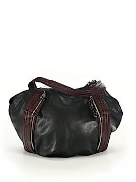 B Makowsky Leather Hobo One Size