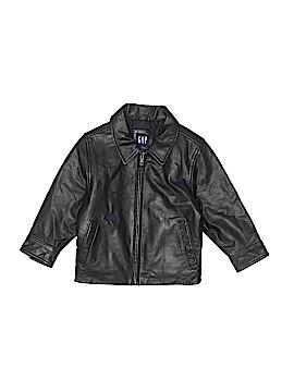 Gap Leather Jacket Size 3