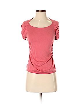 Ann Taylor Short Sleeve Silk Top Size S