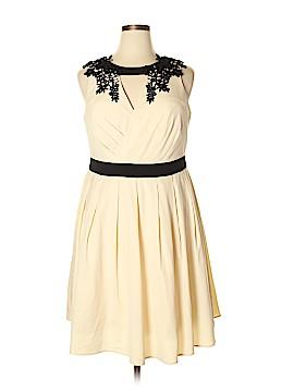 Chi Chi London Casual Dress Size 16