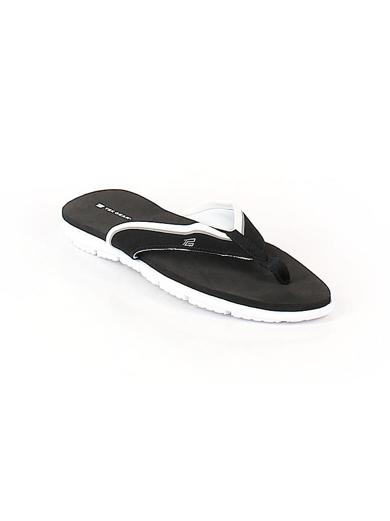 2aa043b8367 Tek Gear Solid Black Flip Flops Size 11 - 70% off