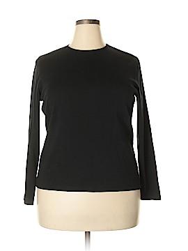 Relativity Long Sleeve T-Shirt Size 1X (Plus)