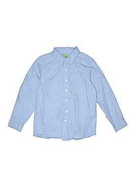 Greendog Long Sleeve Button-Down Shirt Size 7