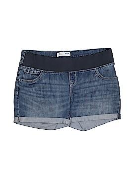 Old Navy Denim Shorts Size 12 (Maternity)