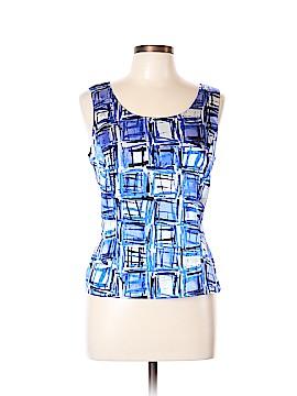 Tahari Sleeveless Button-Down Shirt Size 12