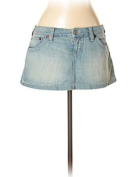 Free People Denim Skirt Size 10