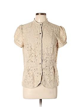 MICHAEL Michael Kors Short Sleeve Button-Down Shirt Size L