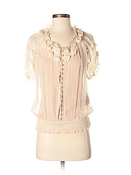 Leifsdottir Short Sleeve Blouse Size M