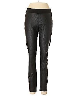 CAbi Faux Leather Pants Size M