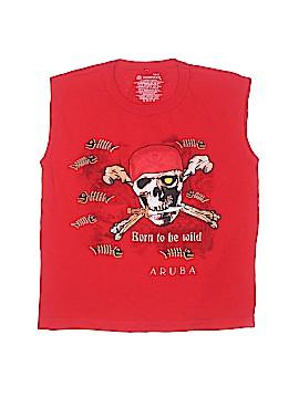 Yacht Club Sleeveless T-Shirt Size 10/12